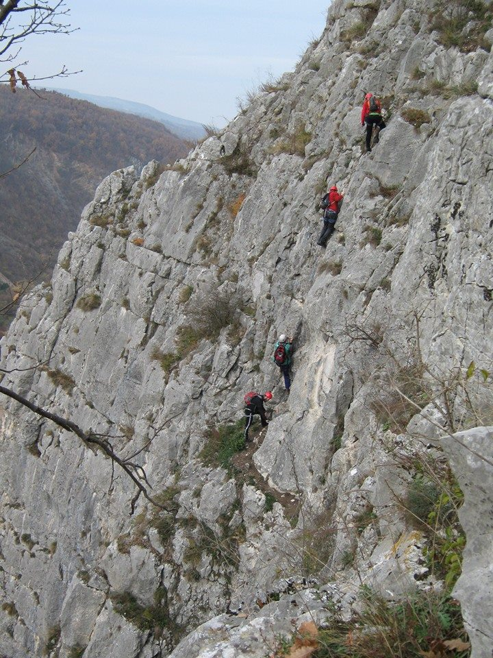 Via ferrata Vadu Crisului